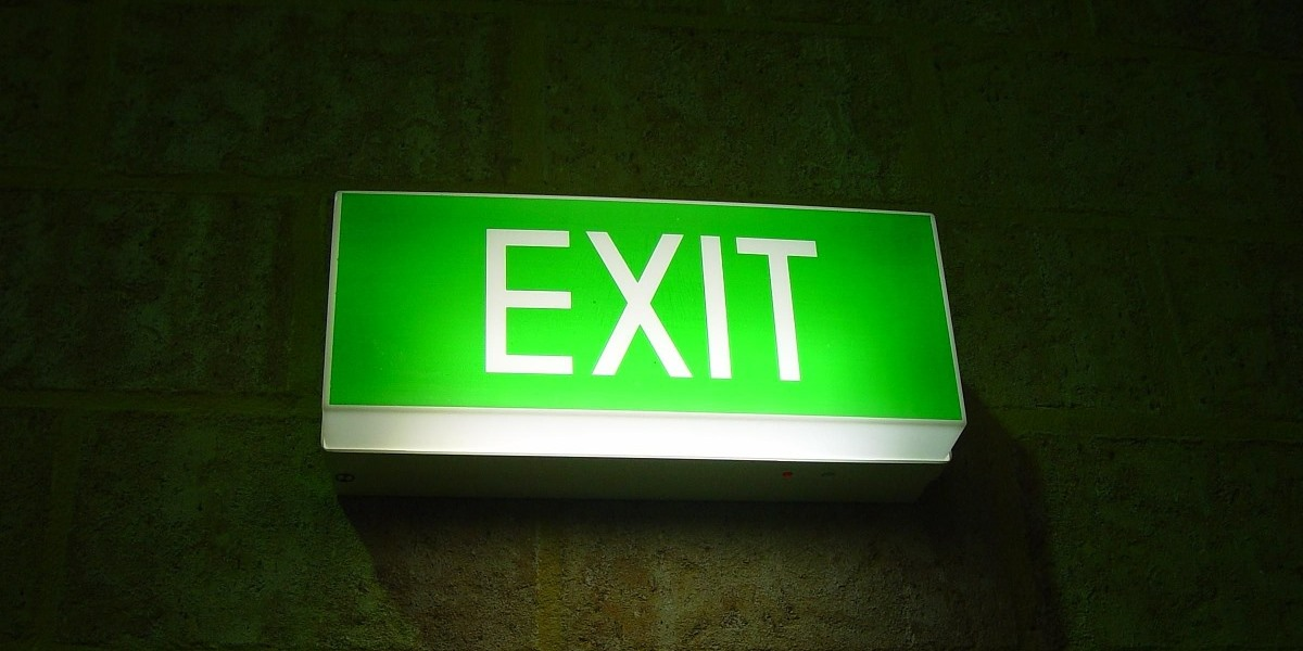 Exit signs you may be made redundant