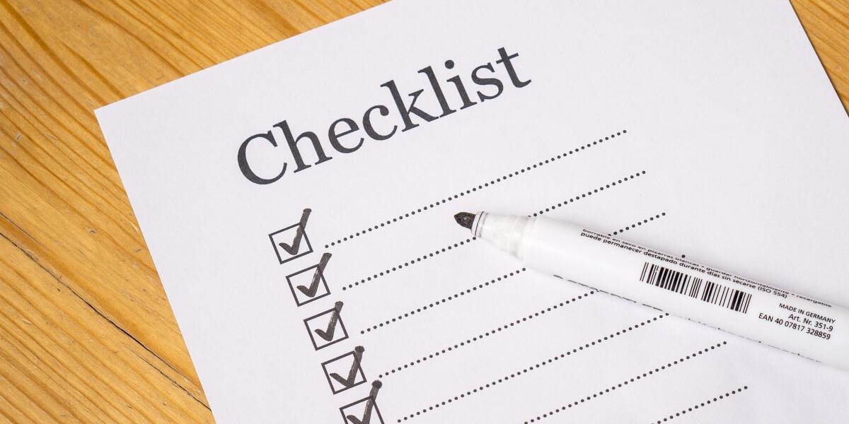 Transition to retirement checklist
