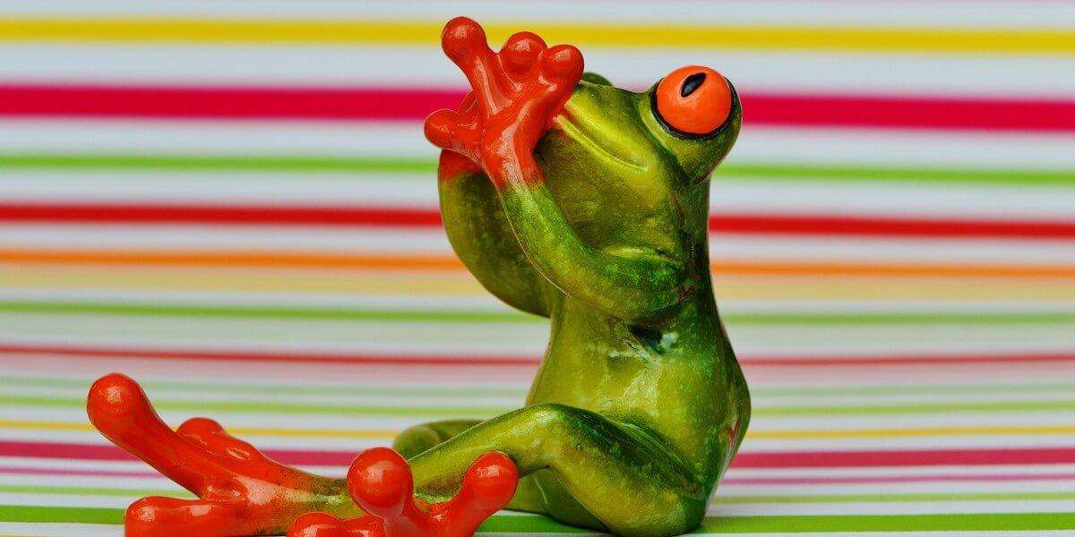 Stop voice shaking interviews as shown by frog