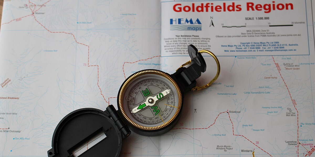 Career coaching can help compass find gold