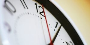 Clock shows whether time reductions will avoid redundancies