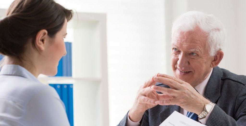 Helping mature employee transition to retiremen